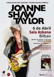 Cartel de Joanne Shaw Taylor (Sala Azkena, Bilbao, )