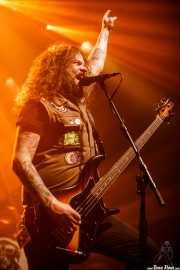 Jon Harvey, cantante y bajista de Monster Truck (Kafe Antzokia, Bilbao, 2017)