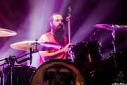 Steve Kiely, baterista de Monster Truck (Kafe Antzokia, Bilbao, 2017)