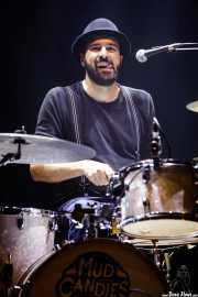 Iñigo Elexpuru, baterista de Mud Candies (Kafe Antzokia, Bilbao, 2017)