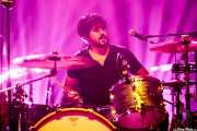 Charlie Hollocou, baterista de The Lookers (Kafe Antzokia, Bilbao, 2017)