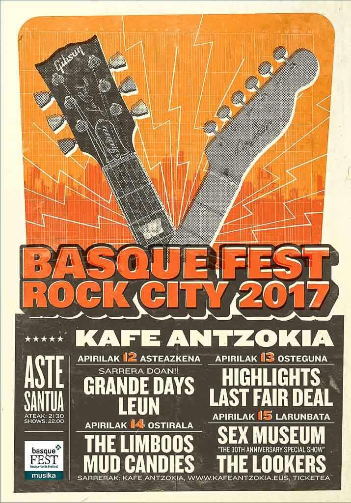 Cartel del BasqueFest 2017 (Kafe Antzokia, Bilbao, )