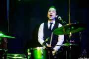 "Takumi Nakamura ""Mr.Mondo"", baterista y cantante de The Neatbeats (Kafe Antzokia, Bilbao, 2017)"