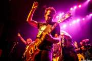 "Ross ""The Boss"" Friedman -guitarra-, Daniel Rey -guitarra-, Dean ""The Dream"" Rispler -bajo- y J.P. ""Thunderbolt"" Patterson -batería- de The Dictators NYC (Kafe Antzokia, Bilbao, 2017)"