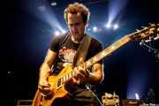 Daniel Rey, guitarrista de The Dictators NYC (Kafe Antzokia, Bilbao, 2017)