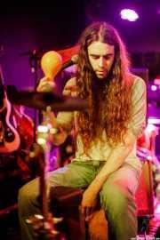 """Iñigo L. Agudo """"Indigo"""", baterista de James Room & Weird Antiqua (Santana 27, Bilbao, 2017)"""