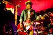 David Eugene Edwards -voz, guitarra y mandolina- y Ordy Garrison -batería- de Wovenhand (Santana 27, Bilbao, 2017)