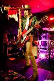 David Eugene Edwards, cantante, guitarrista y mandolinista de Wovenhand (Santana 27, Bilbao, 2017)
