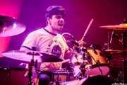 Markel Badallo, baterista de Leun (Kafe Antzokia, Bilbao, 2017)