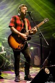 Rafa Rueda, cantante y guitarrista de Pi L.T. (Kafe Antzokia, Bilbao, 2017)