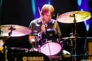 Dave Petersen, baterista de Marah (Kafe Antzokia, Bilbao, 2017)