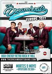 Cartel de The Dreamboats (Shake!, Bilbao, )
