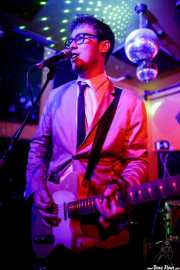 Matt Best, guitarrista y cantante de The Dreamboats (Shake!, Bilbao, 2017)