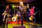 Luiyi Costa -guitarra-, Joseba Arza -batería-, Kurt Baker -voz-, Gonzalo Ibáñez -bajo- y Juan Irazu -guitarra- de Bullet Proof Lovers (Kafe Antzokia, Bilbao, 2017)