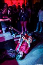 Juan Irazu, guitarrista de Bullet Proof Lovers (Kafe Antzokia, Bilbao, 2017)