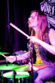 "Jimmy Karlsson ""Jimi Disease"", baterista de Honeymoon Disease (Adimisik, Portugalete, 2017)"