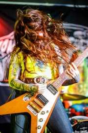 "Anna Skogö ""Acid Queen"", guitarrista y cantante de Honeymoon Disease (Adimisik, Portugalete, 2017)"