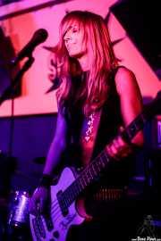Marga Alday, bajista de MoonShakers (Shake!, Bilbao, 2017)