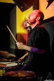Galder Creo, baterista de Cavaliere (Shake!, Bilbao, 2017)
