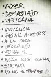 Setlist de Cavaliere (Shake!, Bilbao, 2017)