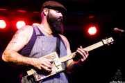 Reverend J. Peyton, cantante y guitarrista de The Reverend Peyton's Big Damn Band (Kafe Antzokia, Bilbao, 2017)