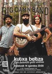 Cartel de The Reverend Peyton's Big Damn Band (Kafe Antzokia, Bilbao, )