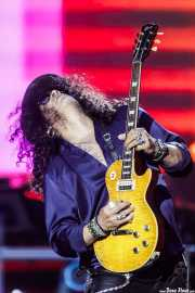 Slash, guitarrista de Guns n' Roses (Estadio de San Mamés, Bilbao, 2017)