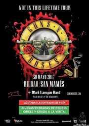 Cartel de Guns n' Roses (Estadio de San Mamés, Bilbao, )