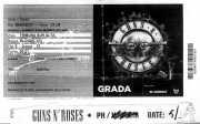 PhotoPass e invitación de Guns n' Roses (Estadio de San Mamés, Bilbao, )