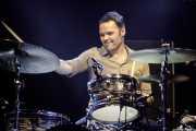 Natxo Beltrán, baterista de Rubia (Music Legends Fest, Sondika, 2017)