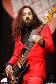 Jose Alberto Solís, bajista de Wyoming y los Insolventes (Music Legends Fest, Sondika, 2017)