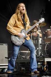 Eric Saylors, guitarrista de The Steepwater Band (Music Legends Fest, Sondika, 2017)