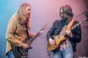 Eric Saylors -guitarra- y Jeff Massey -voz y guitarra- de The Steepwater Band (Music Legends Fest, Sondika, 2017)