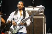 "Veron Dinnall ""Knoxx"", bajista de Alpha Blondy & The Solar System (Music Legends Fest, Sondika, 2017)"