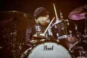 Matt Abts, baterista de Gov't Mule (Music Legends Fest, Sondika, 2017)