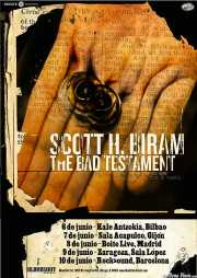 "Scott H. Biram ""The Dirty Old One Man Band"", cantante, guitarrista, armonicista y bombo (Kafe Antzokia, Bilbao, )"