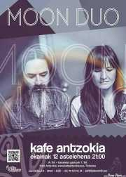 Cartel de Moon Duo (Kafe Antzokia, Bilbao, )