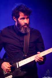 Alban Barate, guitarrista, teclista y ukelele de The Limiñanas (Andoaingo Rock Jaialdia, Andoain, 2017)
