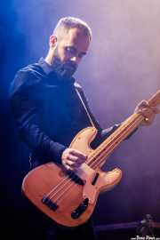 Mickey Malaga, bajista de The Limiñanas (Andoaingo Rock Jaialdia, Andoain, 2017)
