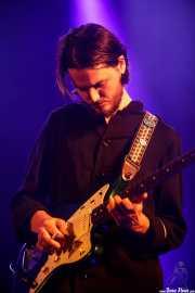 Daniel Gilbert, guitarrista de Ebbot Lundberg & The Indigo Children (Andoaingo Rock Jaialdia, Andoain, 2017)