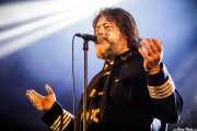 Ebbot Lundberg, cantante y armonicista de Ebbot Lundberg & The Indigo Children (Andoaingo Rock Jaialdia, Andoain, 2017)