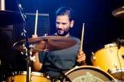 Jon Ibarra, baterista de Fetitxe (Azkena Rock Festival, Vitoria-Gasteiz, 2017)