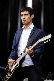 Mauro Venegas, guitarrista de The Godfathers (Azkena Rock Festival, Vitoria-Gasteiz, 2017)