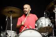 Andoni Ortiz, baterista de The Soulbreaker Company (Azkena Rock Festival, Vitoria-Gasteiz, 2017)
