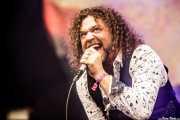 Jacopo Meille, cantante de Tygers of Pan Tang (Azkena Rock Festival, Vitoria-Gasteiz, 2017)