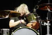 Jerry Gaskill, baterista de King's X (Azkena Rock Festival, Vitoria-Gasteiz, 2017)