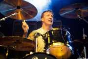 Spings Wade, baterista de Crank County Daredevils (Azkena Rock Festival, Vitoria-Gasteiz, 2017)