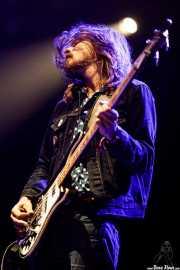 Truls Mörck, bajista de Graveyard (Azkena Rock Festival, Vitoria-Gasteiz, 2017)