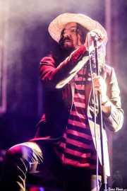 Charlie Granberg, cantante y armonicista de Hellsingland Underground (Azkena Rock Festival, Vitoria-Gasteiz, 2017)