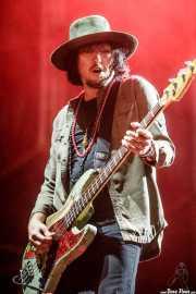 Sammi Yaffa, bajista de The Hellacopters (Azkena Rock Festival, Vitoria-Gasteiz, 2017)